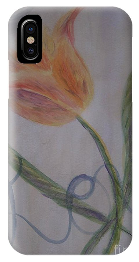 Tulip IPhone Case featuring the painting Love by Emily Young
