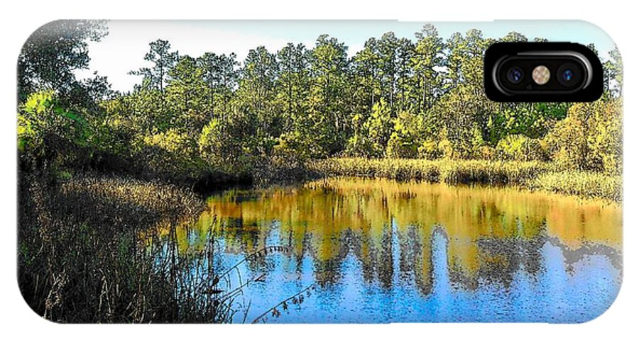 Marsh IPhone X Case featuring the photograph Lower Suwannee National Wildlife Refuge Ti by Sheri McLeroy