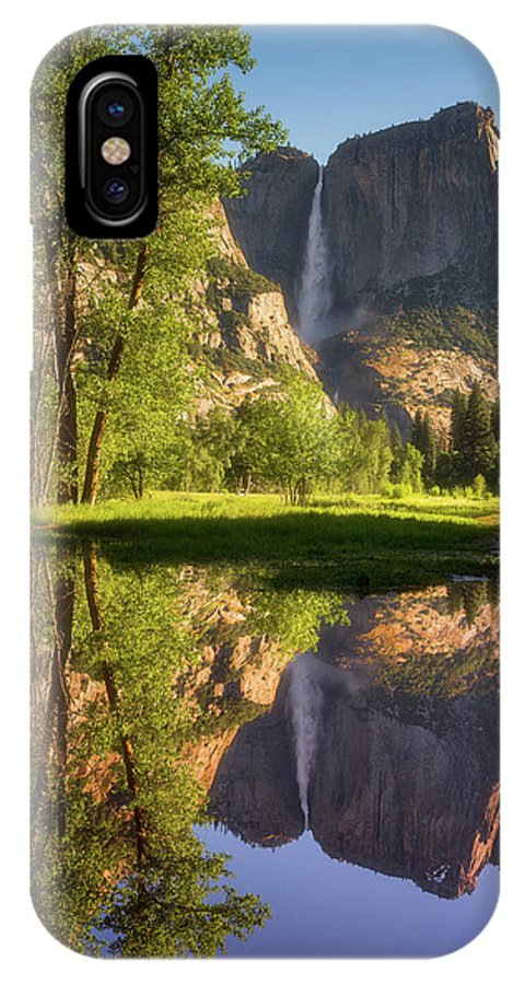 National Park IPhone X Case featuring the photograph Lower Yosemite Morning by Darren White