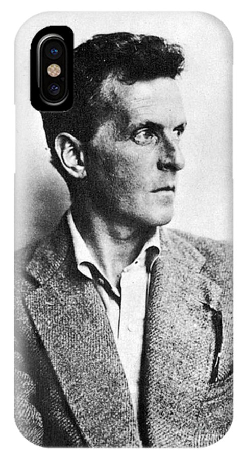20th Century IPhone X Case featuring the photograph Ludwig Wittgenstein by Granger