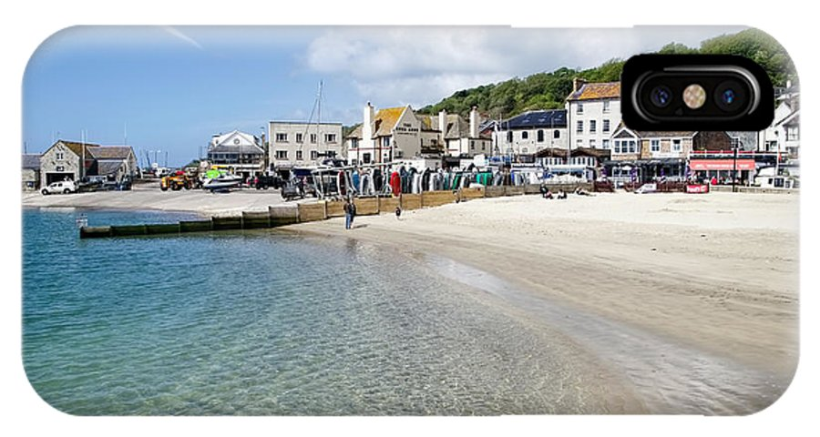 Lyme-regis IPhone X Case featuring the photograph Lyme Regis Beaches - June 2015 by Susie Peek