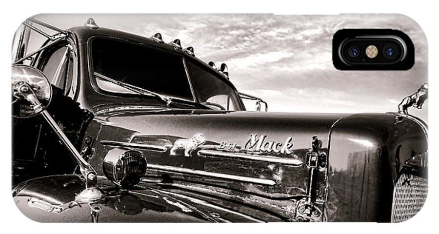 Mack IPhone X Case featuring the photograph Mack B61 Ghost by Olivier Le Queinec