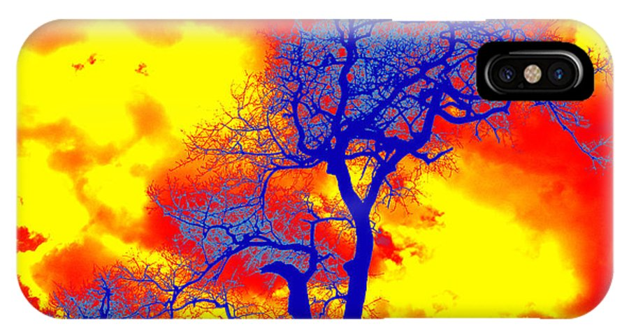 Trees IPhone X Case featuring the photograph Made In Africa by Giuseppe Russo