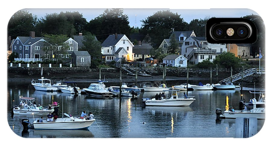 Portsmouth Nh IPhone X Case featuring the photograph Magic Hour Mhp by Jim Brage