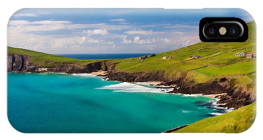 Ireland IPhone X Case featuring the photograph Magic Lands by Gabriela Insuratelu