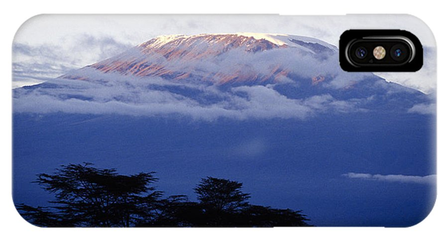 Africa IPhone X Case featuring the photograph Magnificent Mount Kilimanjaro by Michele Burgess