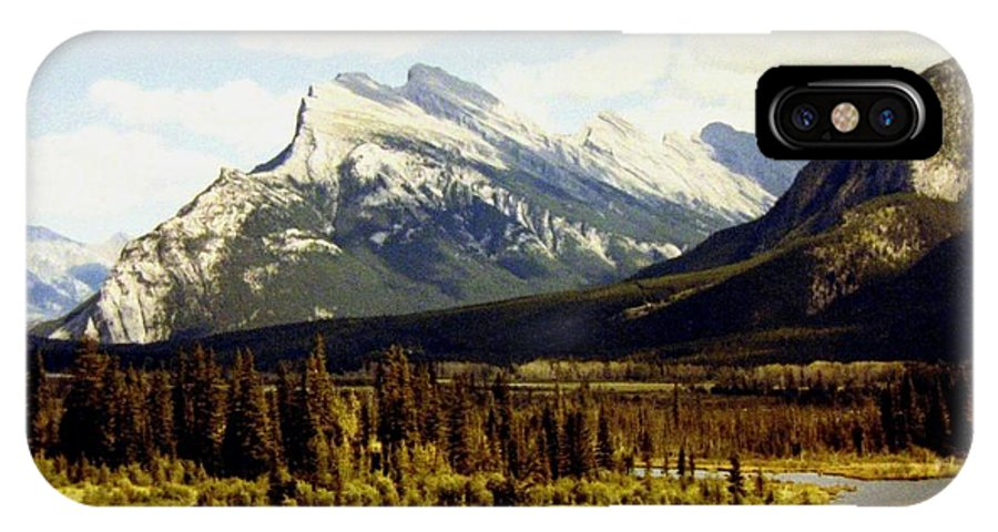 Mount Rundle IPhone X Case featuring the photograph Majestic Mount Rundle by Will Borden