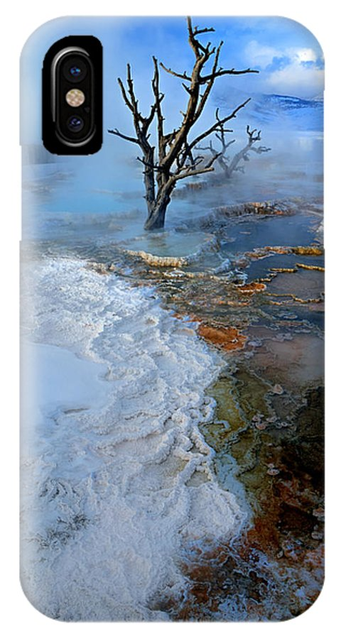 Boiling IPhone X Case featuring the photograph Mammoth by David Andersen