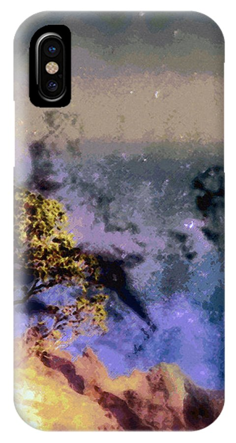 Rainbow Colors Digital IPhone Case featuring the photograph Manahuna by Kenneth Grzesik