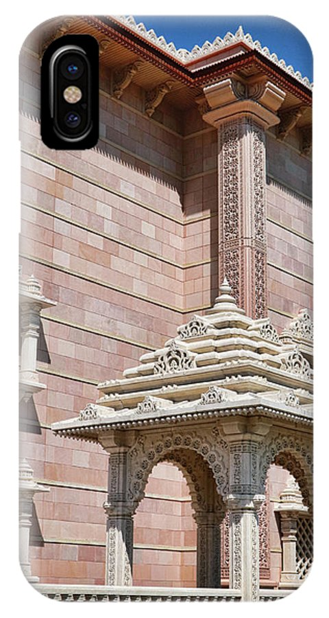 Religion IPhone X Case featuring the photograph Mandir # 2 by Allen Beatty