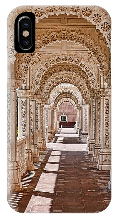 Religion IPhone X Case featuring the photograph Mandir # 5 by Allen Beatty