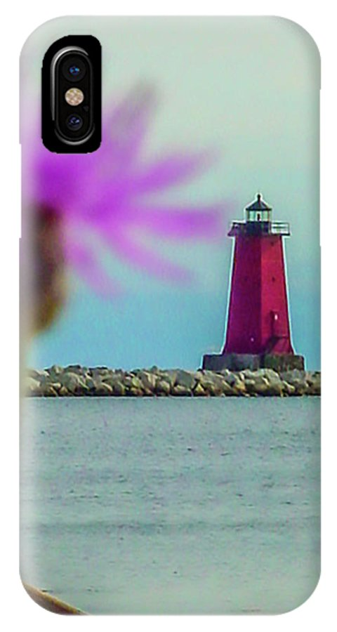 Manistique IPhone X Case featuring the photograph Manistique by Craig David Morrison