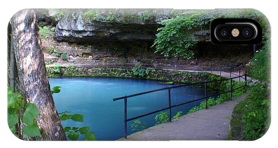 Maramec Springs Park IPhone X Case featuring the photograph Maramec Springs 3 by Marty Koch