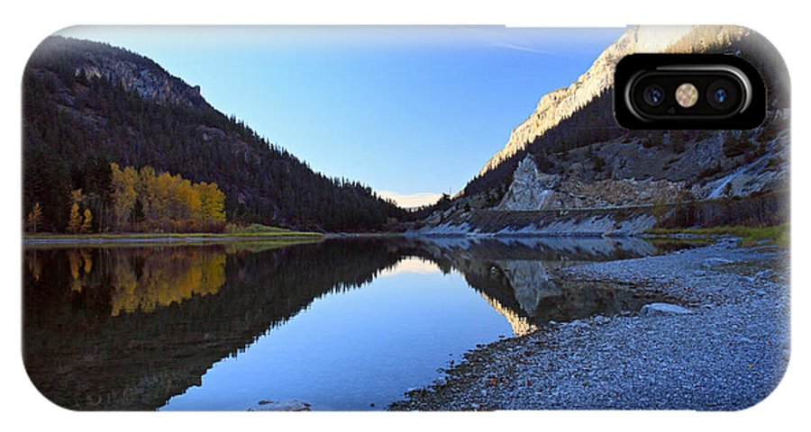 Marble Canyon IPhone X Case featuring the photograph Marble Canyon Autumn Reflection by Pierre Leclerc Photography