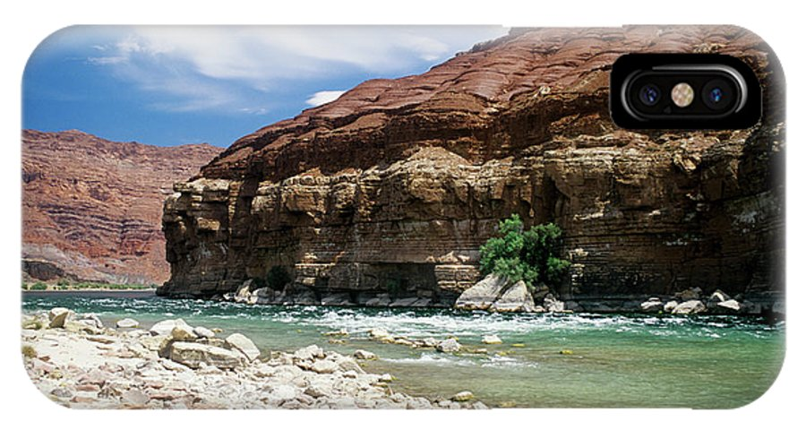 Colorado River IPhone X Case featuring the photograph Marble Canyon by Kathy McClure
