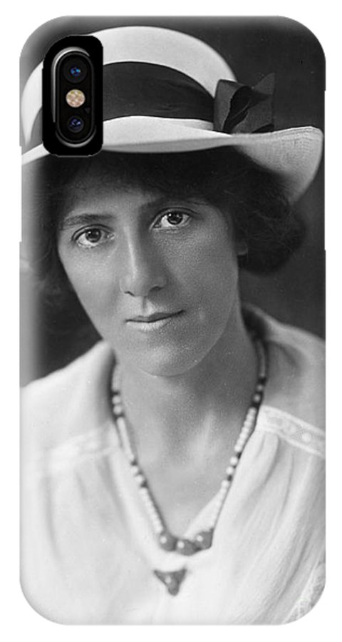 20th Century IPhone X Case featuring the photograph Marie Stopes (1880-1958) by Granger