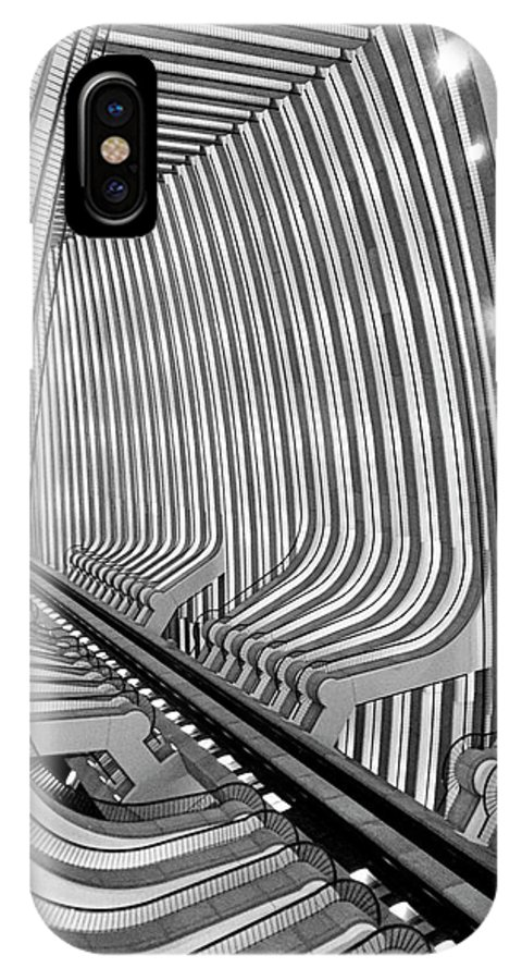 Architecture IPhone X Case featuring the photograph Marquis by Dick Goodman