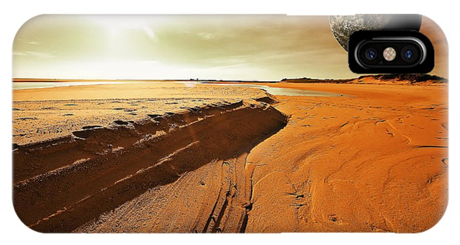Mars IPhone X Case featuring the photograph Mars by Dapixara Art