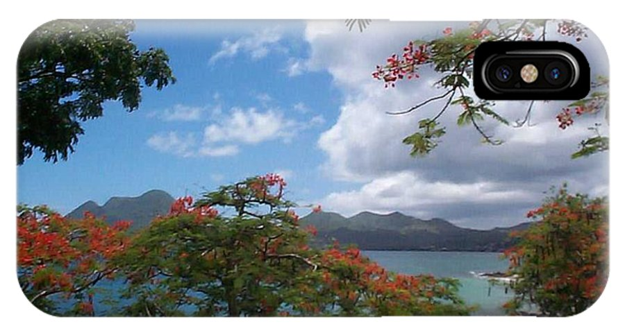 Donation IPhone Case featuring the photograph Martinique by Mary-Lee Sanders