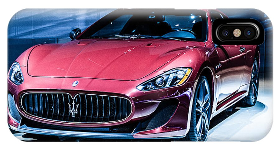 Auto IPhone X Case featuring the photograph Maserati by Ronald Grogan