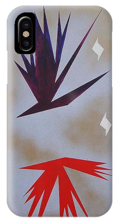 Birds IPhone Case featuring the painting Mating Ritual by J R Seymour