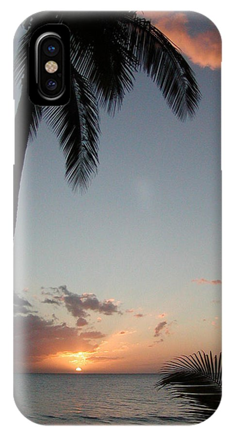 Maui IPhone X Case featuring the photograph Maui Sunset by Dustin K Ryan