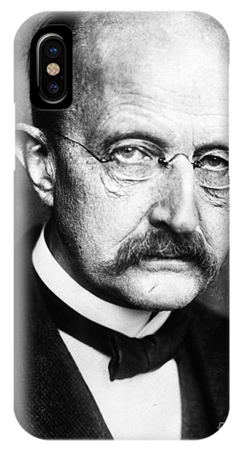 1929 IPhone X Case featuring the photograph Max Planck by Granger
