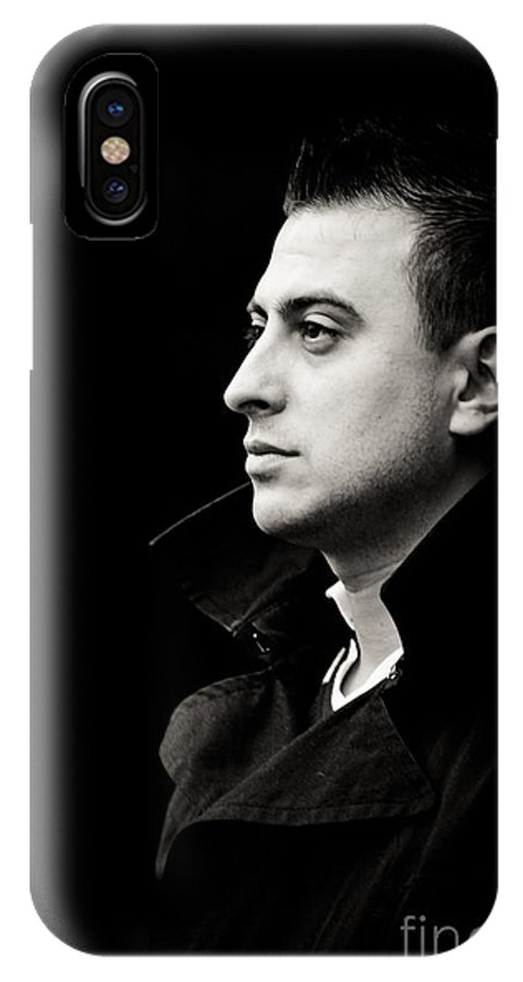 Young Man IPhone X / XS Case featuring the photograph Meditation by Gabriela Insuratelu