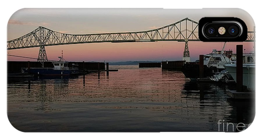 Denise Bruchman IPhone X Case featuring the photograph Megler Sunset by Denise Bruchman