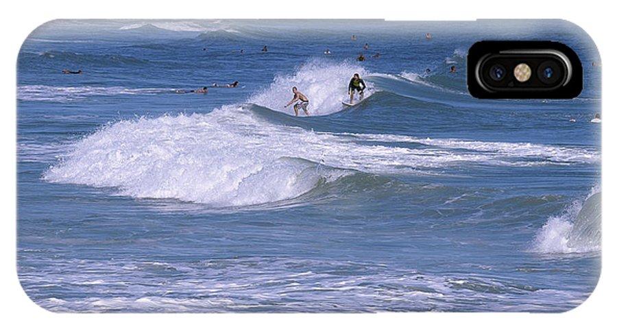 Florida IPhone X Case featuring the photograph Melbourne Beach Florida Usa by Allan Hughes