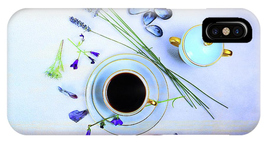 Cafe IPhone X Case featuring the photograph Memories And Coffee by Randi Grace Nilsberg