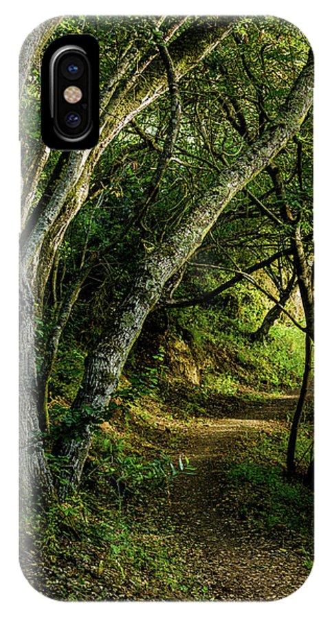 Mendoza Trail IPhone X Case featuring the photograph Mendoza Trail by Joe Azevedo