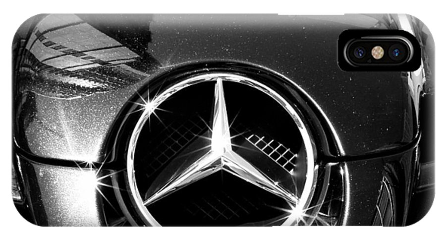 Mercedes Benz IPhone X Case featuring the photograph Mercedes Maclaren by Andrew Fare