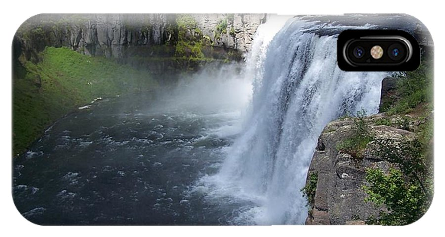 Landscape IPhone Case featuring the photograph Mesa Falls by Gale Cochran-Smith
