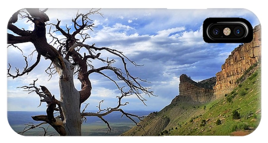 Mesa Verde Mood IPhone X Case featuring the photograph Mesa Verde Mood by Skip Hunt