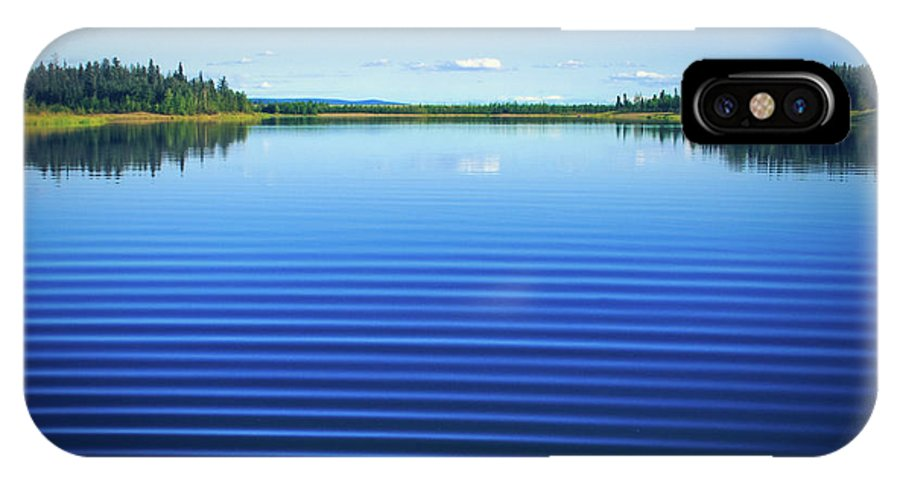 Mesmerizing Ripples IPhone X Case featuring the photograph Mesmerizing Ripples by Sharon Mau