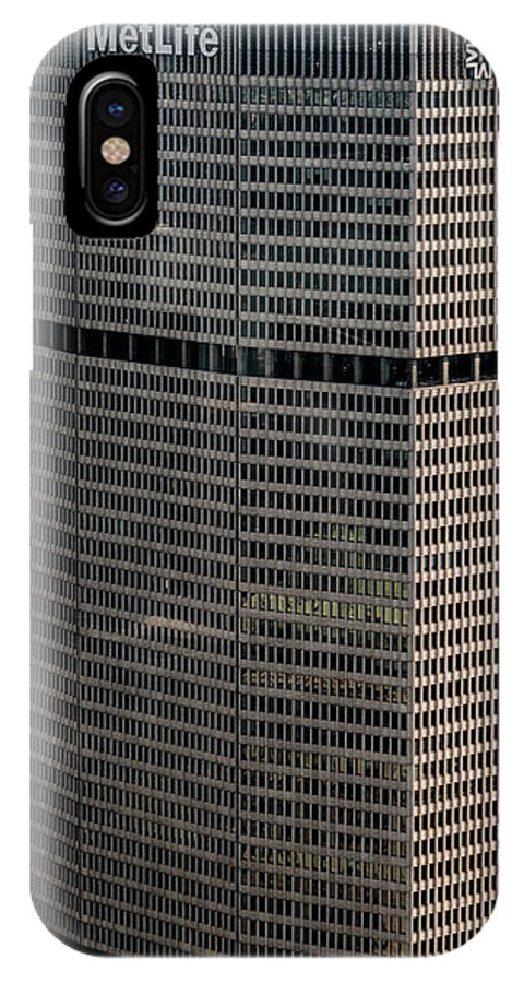 Metlife Building IPhone X Case featuring the photograph Metlife Building - 200 Park Avenue In Nyc by David Oppenheimer