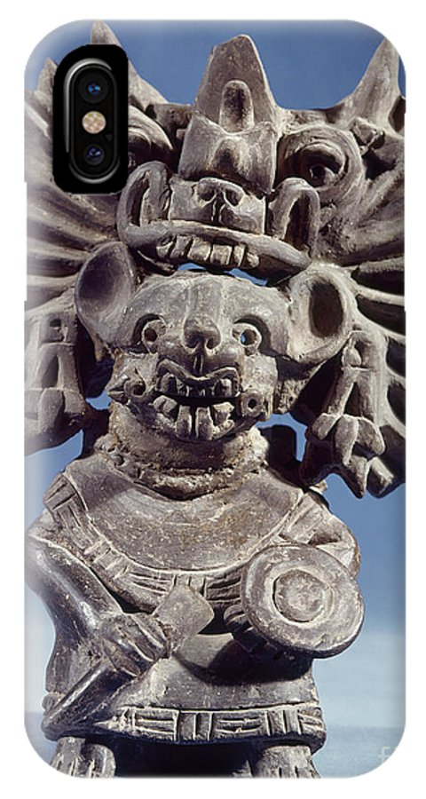 100 IPhone X Case featuring the photograph Mexico: Vampire Goddess by Granger