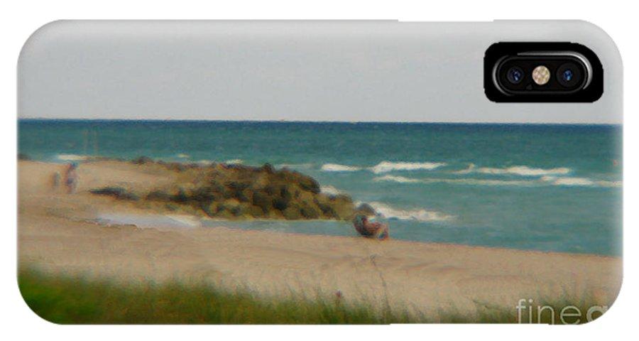 Miami IPhone X Case featuring the photograph Miami by Amanda Barcon