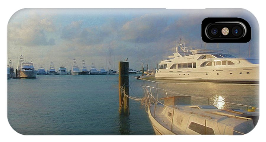 Miami IPhone X Case featuring the photograph Miami Harbor by JAMART Photography