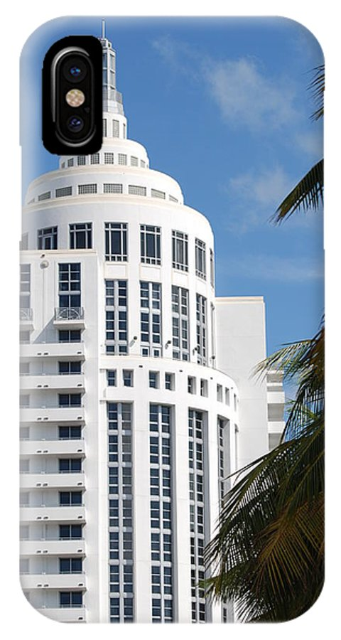 Architecture IPhone Case featuring the photograph Miami S Capitol Building by Rob Hans
