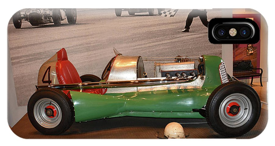Auto IPhone X Case featuring the photograph Midget At America On Wheels by Mike Martin