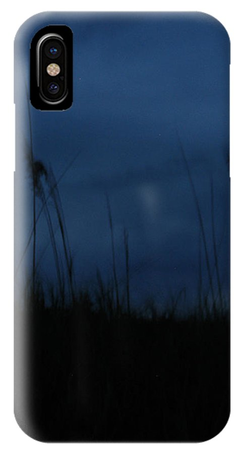 Dusk IPhone X Case featuring the photograph Midnight Motion by Stacey May