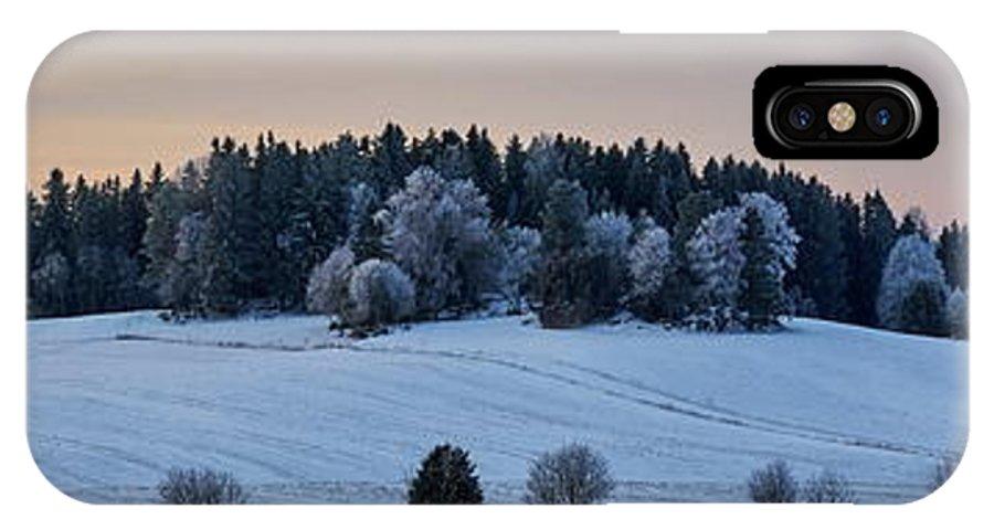 Finland IPhone X Case featuring the photograph Mihari Fields by Jouko Lehto