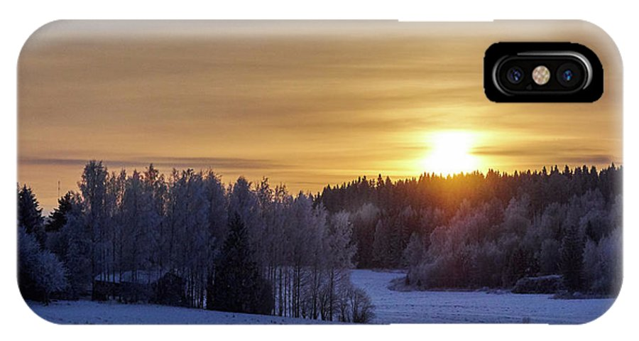 Finland IPhone X Case featuring the photograph Mihari by Jouko Lehto