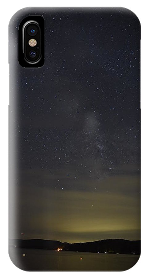 New England IPhone X Case featuring the photograph Milky Way #1 by Susan Russo