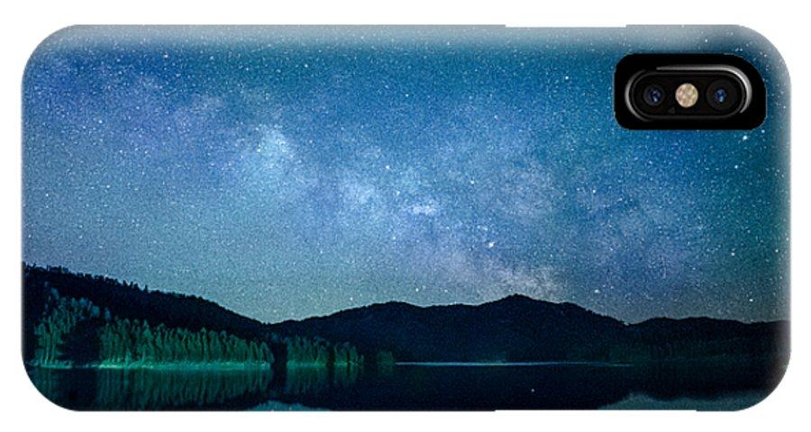 Dakota IPhone X Case featuring the photograph Milky Way Morning by Dakota Light Photography By Dakota