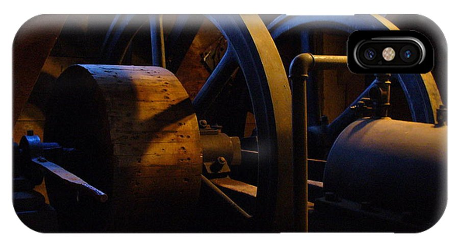 Power IPhone X Case featuring the photograph Mill Power by Peggy King