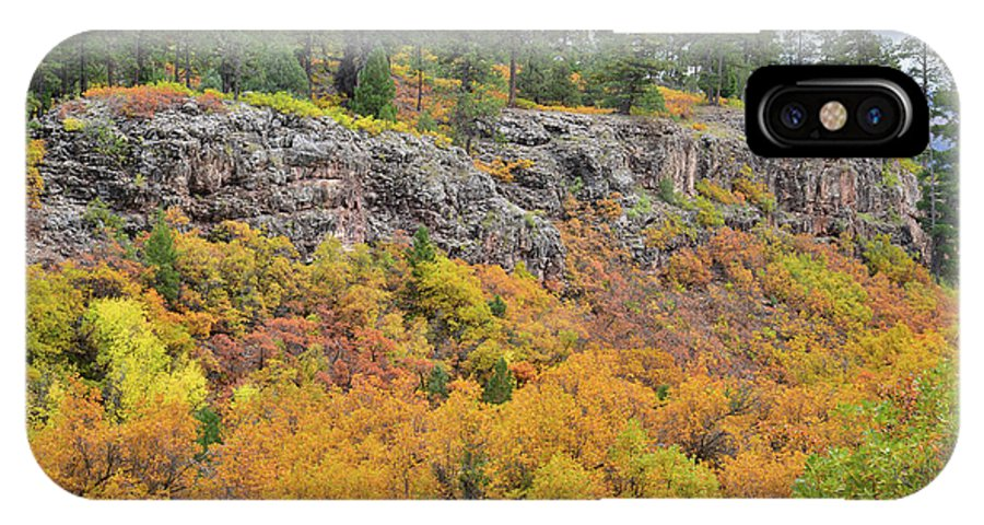 Colorado IPhone X Case featuring the photograph Million Dollar Highway Fall Color by Ray Mathis