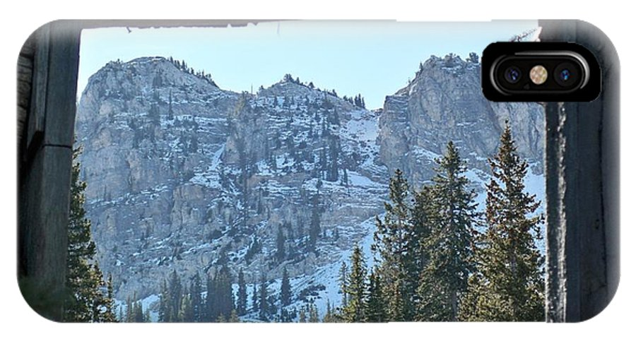 Mountain IPhone Case featuring the photograph Miners Lost View by Michael Cuozzo